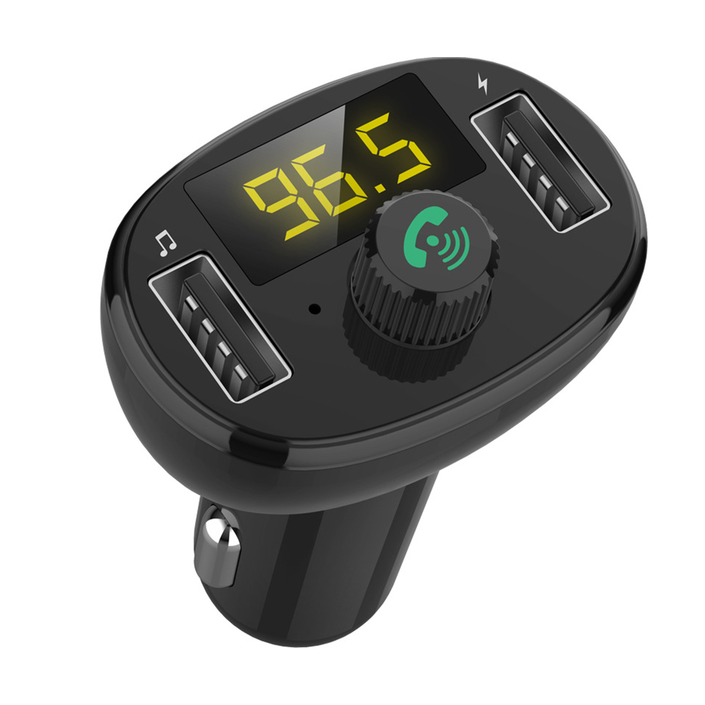 3.0 Wireless Bluetooth FM Transmitter Modulator Car Radio Adapter Car MP3 Player Dual USB Car Charger  BT23 (3.4A) version