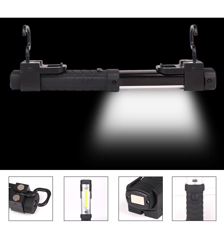 LED XPE -COB High Brightness Flashlight for Oudoor Working Emergency White light_LED glare work light flashlight