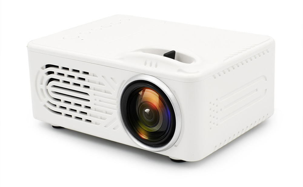 Mini Portable Projector-White US Plug