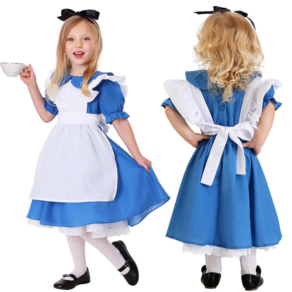 Childresn Girl Maid Sweet Costume Oktoberfest Dress Beer Festival Dress Suit As shown_M