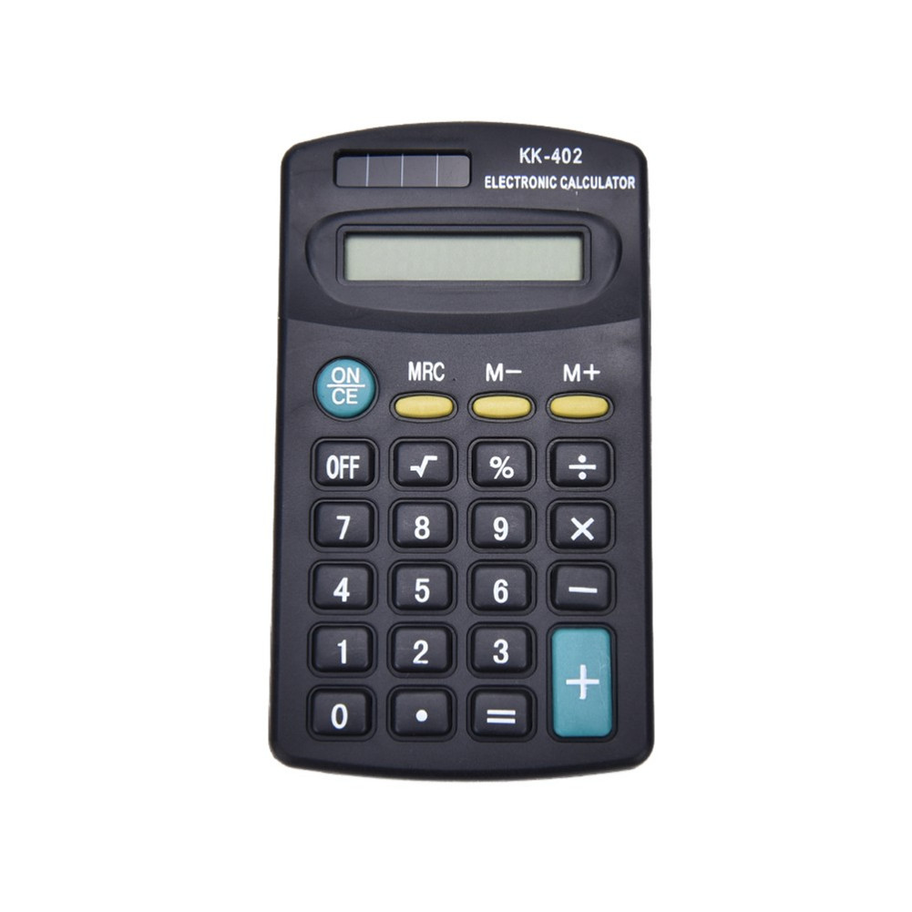 Portable 8 Digit Calculator General Purpose Electronic Calculator Battery Powered Students Calculator as picture show