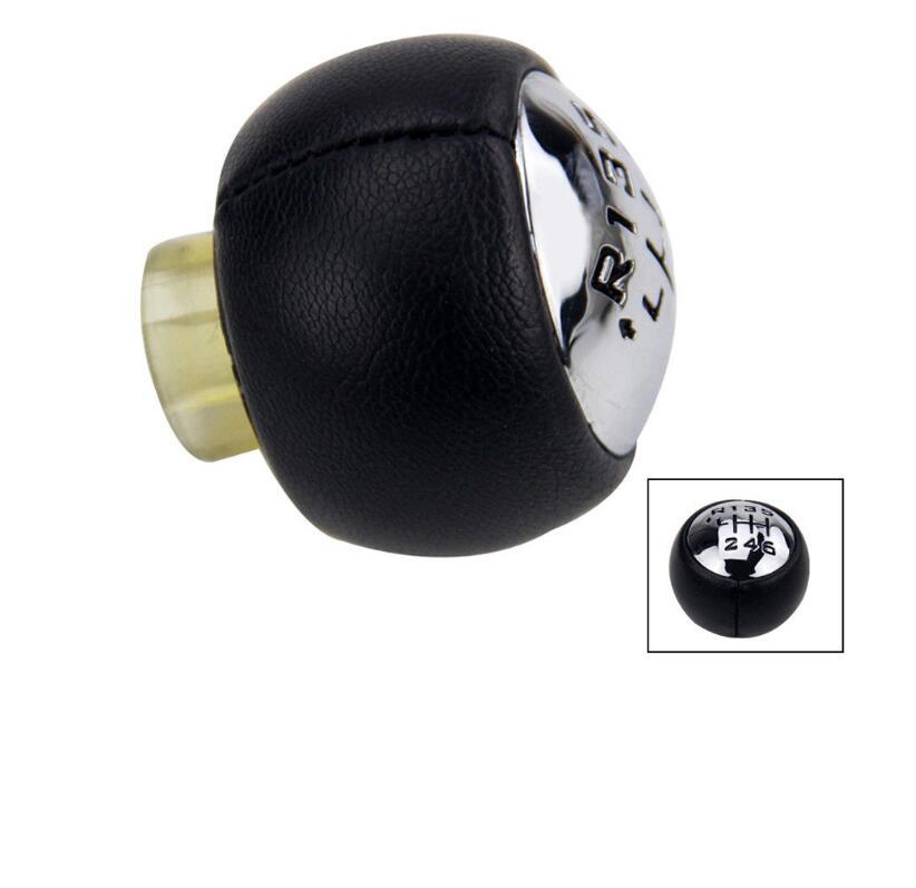 6 Speed Car Gear Stick Shift Knob For Peugeot 307 308 3008 407 5008 807 PARTNER B9 TEPEE For Citroen C3 C4 C8 Picasso black