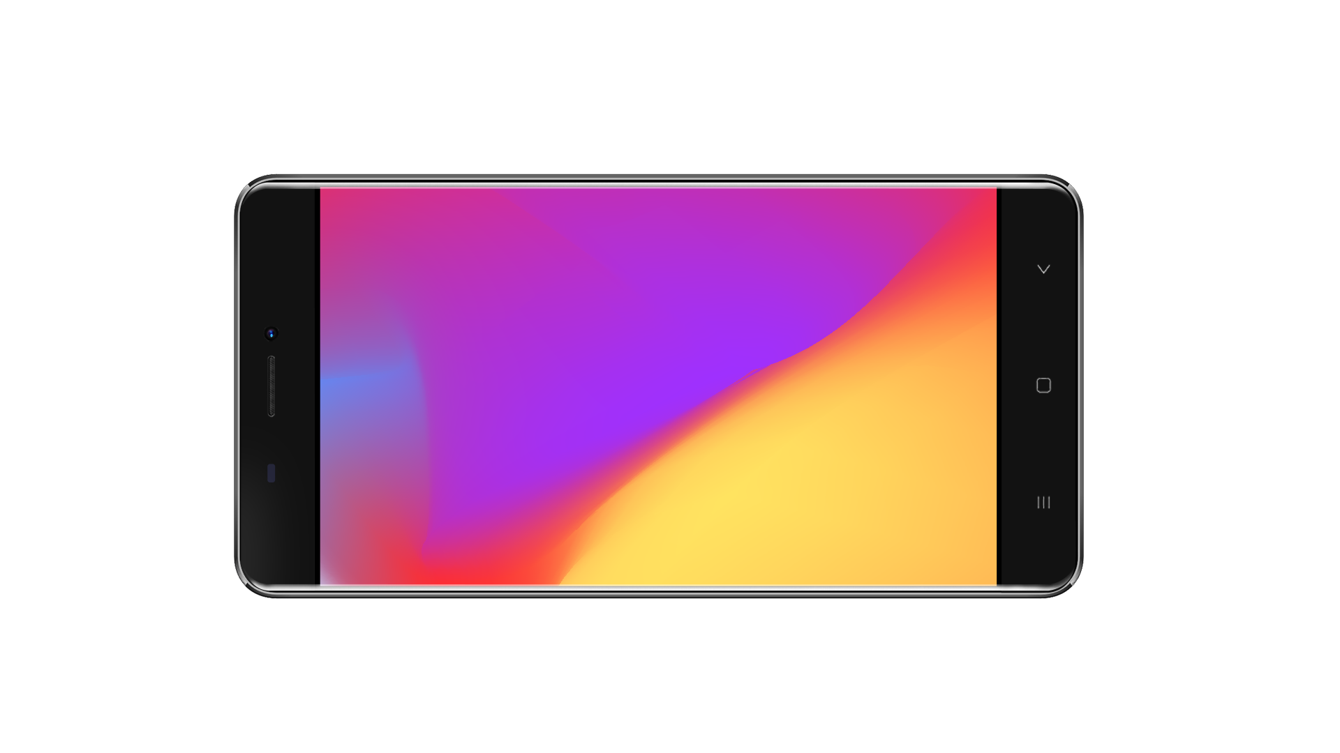 V6  3G Smartphone - Android 6.0 OS, Quad Core CPU4.5-Inch Display, 1700mAh Battery, Front & Rear Camera (Gray)
