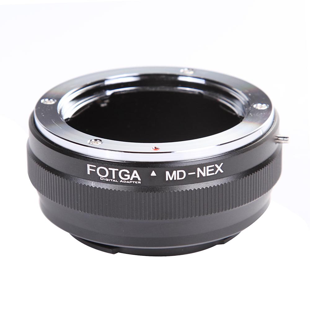 FOTGA MD-NEX Lens Adapter Ring Camera Rings for Sony NEX-VG10 NEX-3 NEX-5 NEX-7 NEX-5C NEX-C3 black
