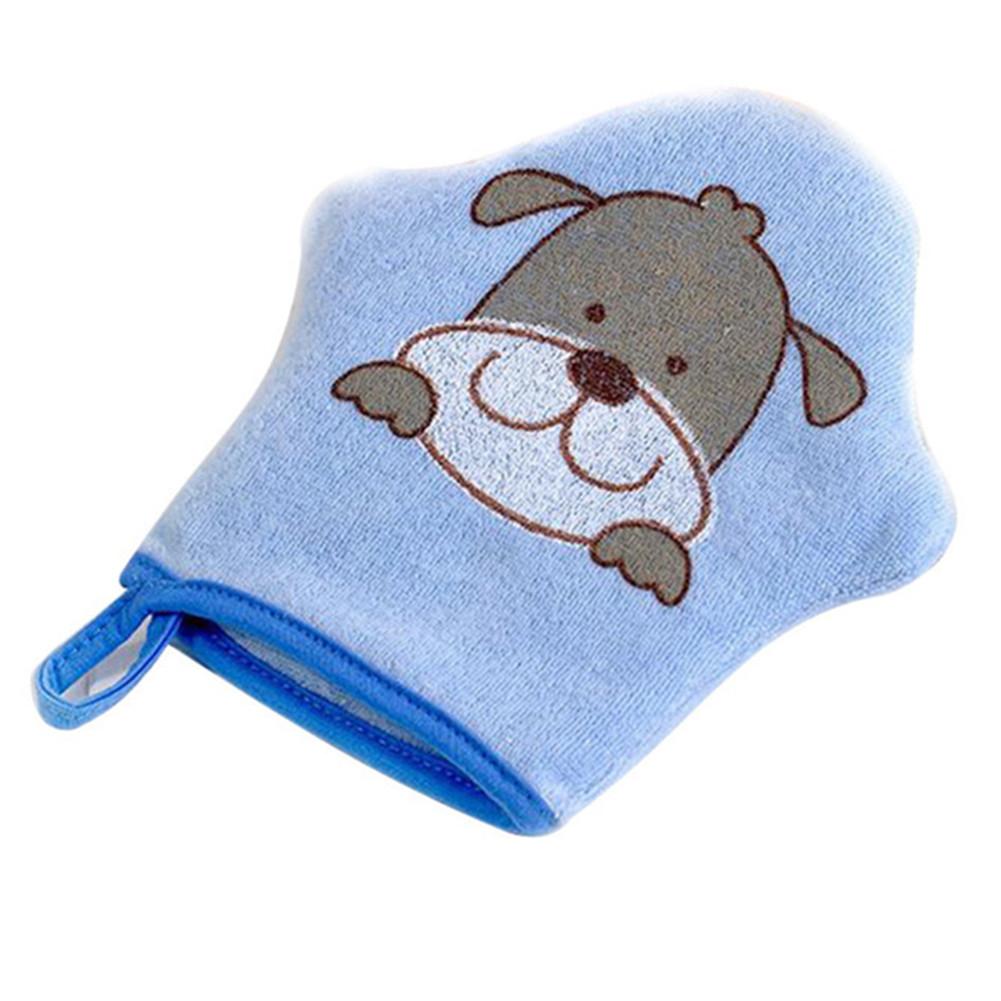 Children Baby Ultra-soft Bath Cotton Baby Bath Supplies Cartoon Sponge Artifact