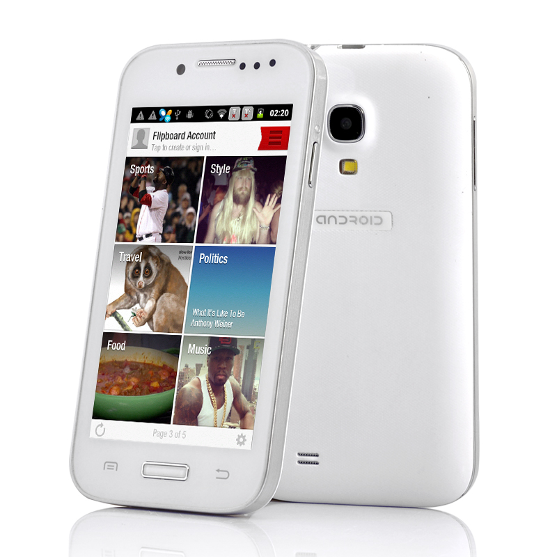 4 Inch Budget Android Phone - SamSim (W)