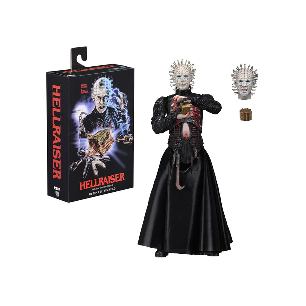 7inch NECA Hellraiser Ultimate Series Pinhead Action Figure Movable Collection Toys Pinhead Action Figure