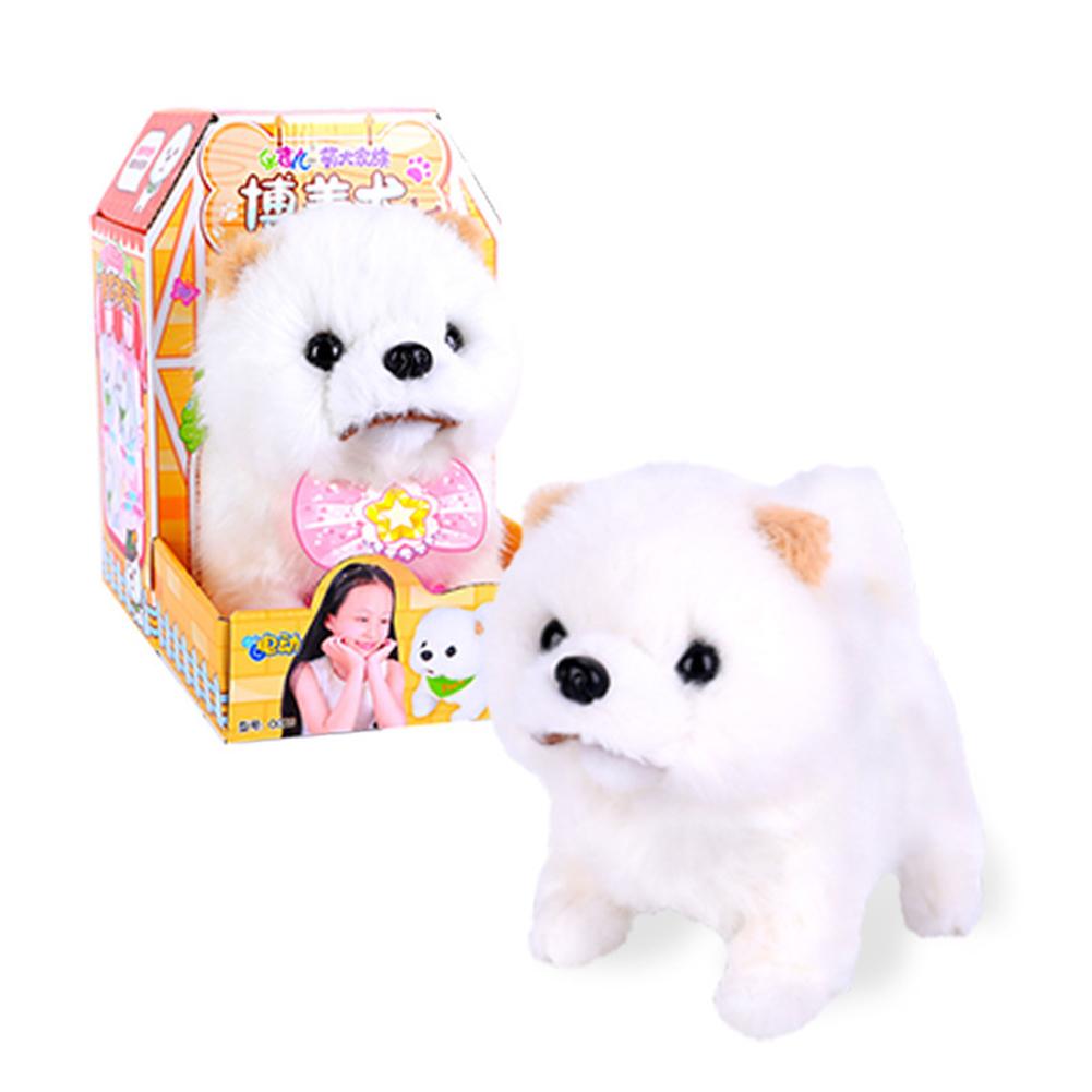 Dog Shape Electric  Plush  Toy Cute Simulation Puppy Plush  Toys Smart Robot  Dog Hiromi