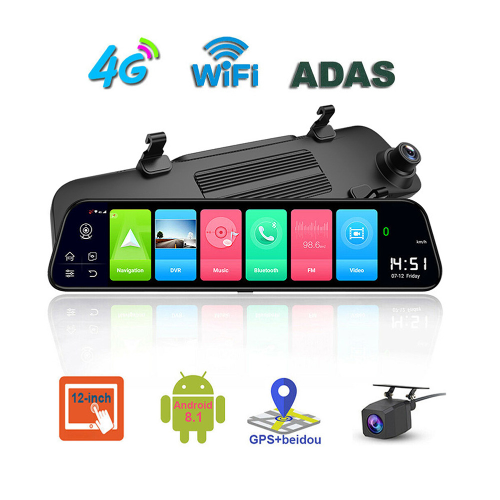 12 inch 4G Streaming Full Screen High Definition Navigation 12