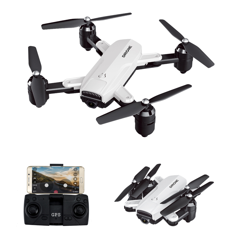 Drone ZD6-GPS WIFI FPV 1080 HD Camera Wide-angle Optical-Flow Foldable Selfie Drone Toys for Kids Children Boys Girls  720P