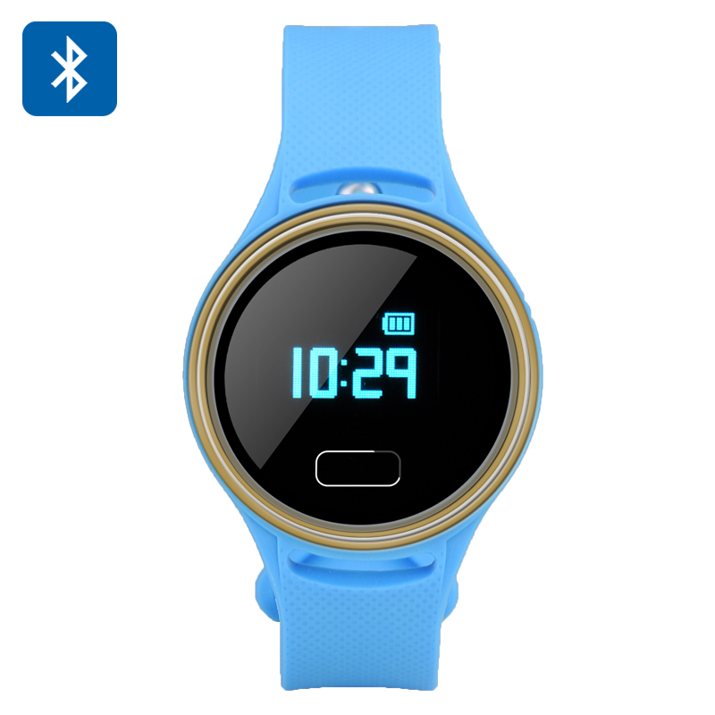 Bluetooth 4.0 Smart Fitness Band (Blue)