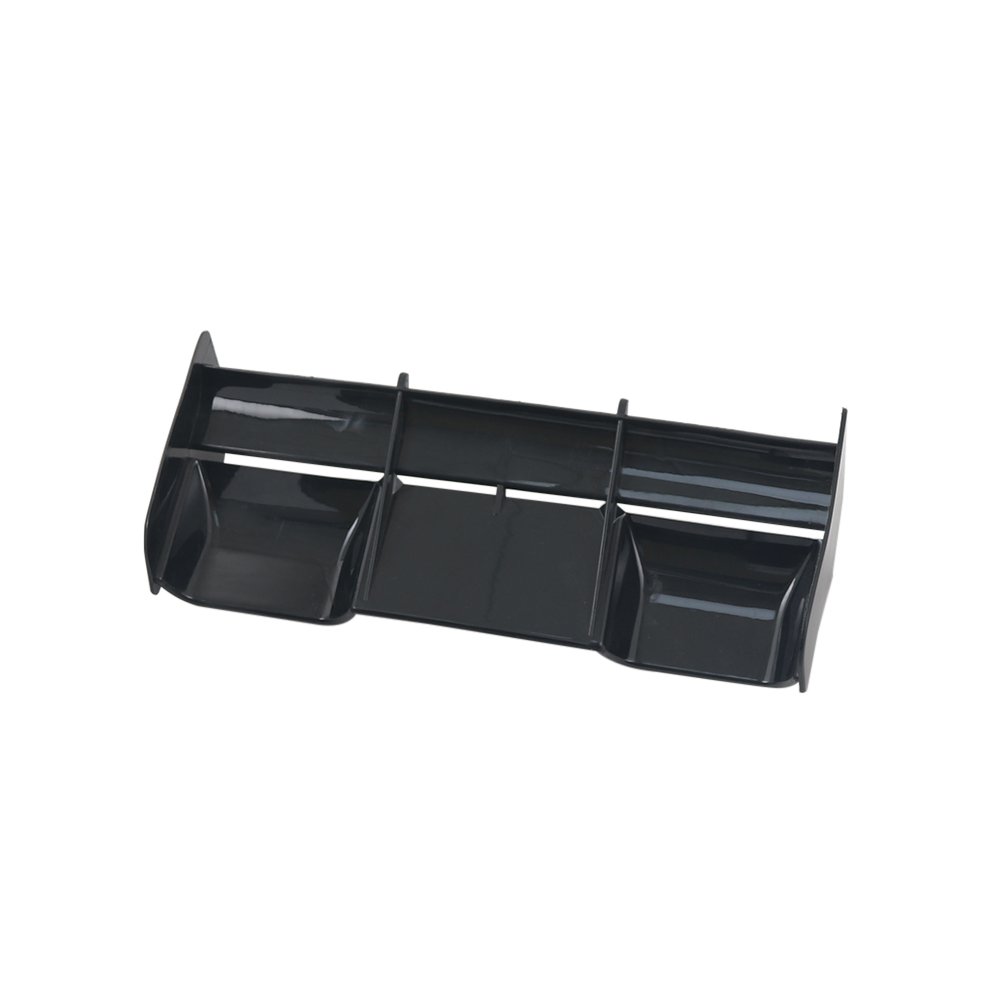 1/8 RC Buggy car plastic nylon Tail Wing for 1/8 Nitro Electric Powered Off Road Buggy Truck black