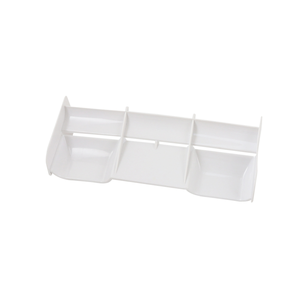 1/8 RC Buggy car plastic nylon Tail Wing for 1/8 Nitro Electric Powered Off Road Buggy Truck white