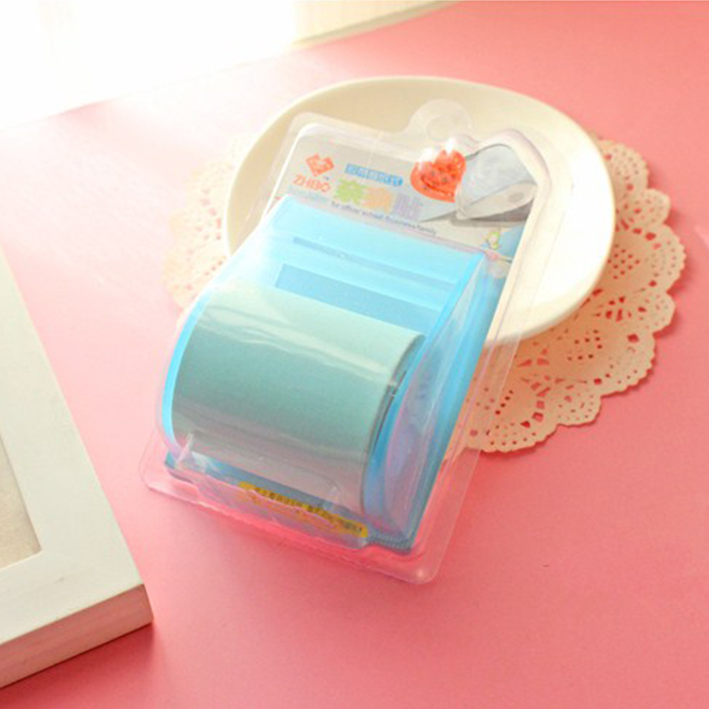 Mini Roll Type Candy Colors Stationery Chic Cute Notes Paper Stickers with Tape Seat