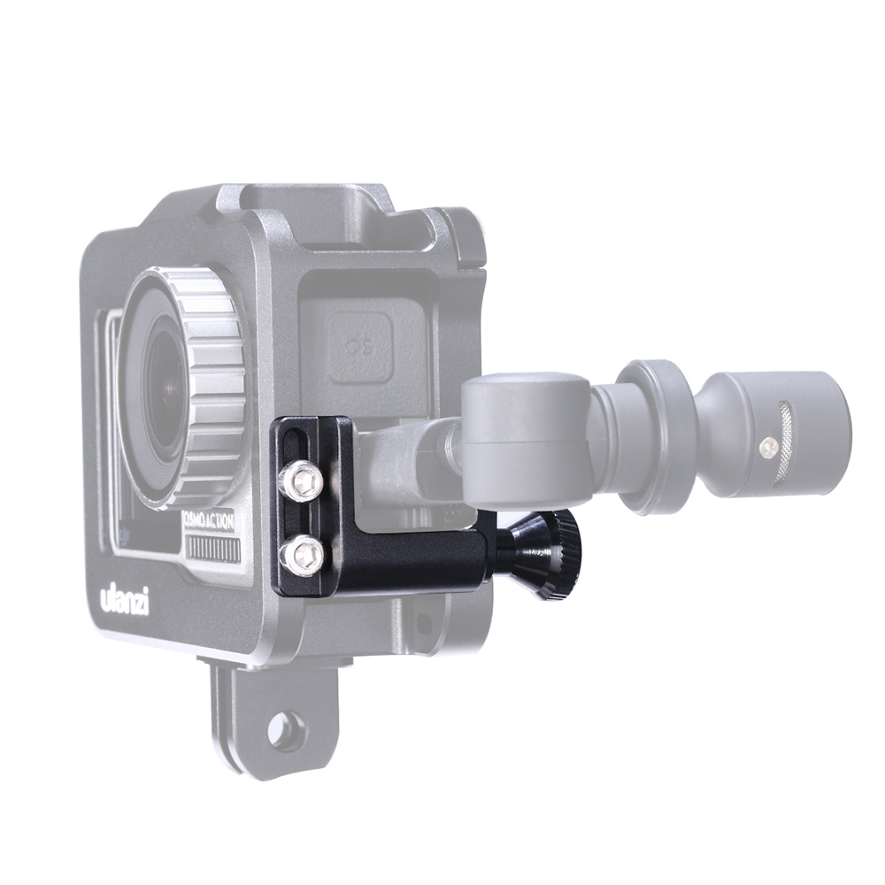 Cable Organizer Clip Holder for Ulanzi OA-1 DJI OSMO Action Camera Stabilizer Management Clamp Bracket Mount black
