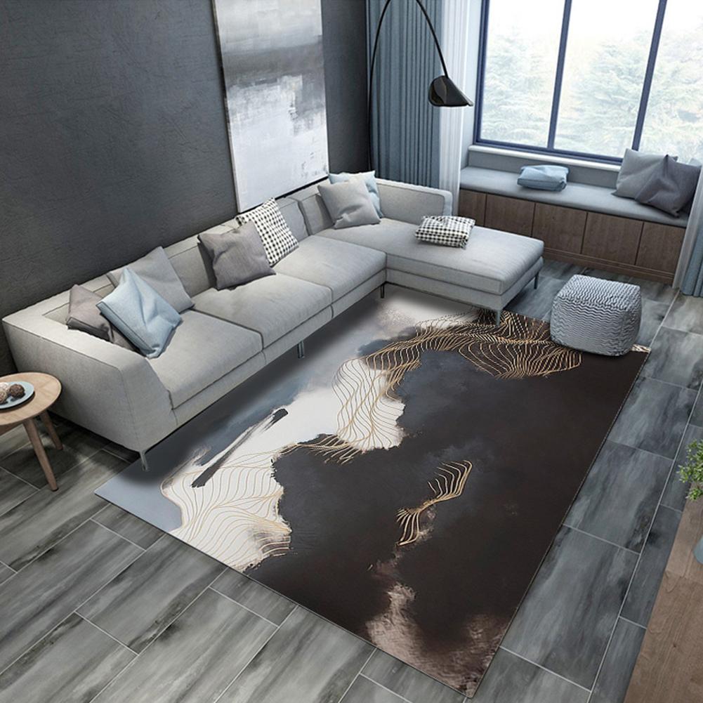 Modern Geometric Lines Pattern Carpet Living Room Bedroom Bedside Office Mat Geometric lines 8_80X120 cm