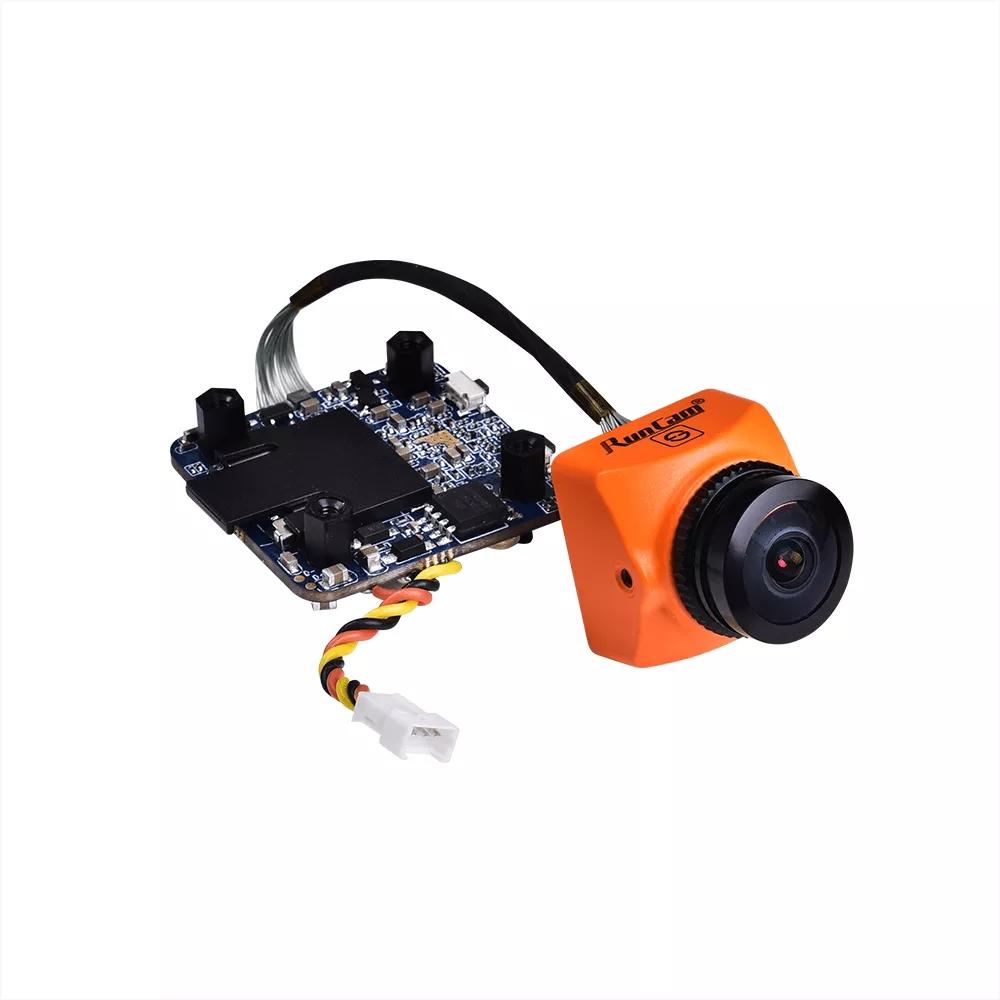 RunCam Split 3 Micro 1080P 60fps HD Recording WDR Low Latency 16:9/4:3 NTSC/PAL Switchable FPV Camera For RC Drone Orange