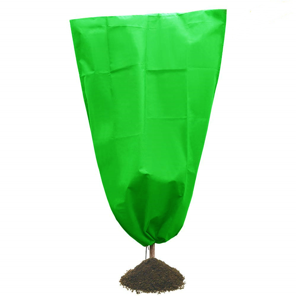 Plant Covers Freeze Protection Thickness Outdoor Plant Covers for Winter Frost Cover for Shrub Trees green_100*160CM