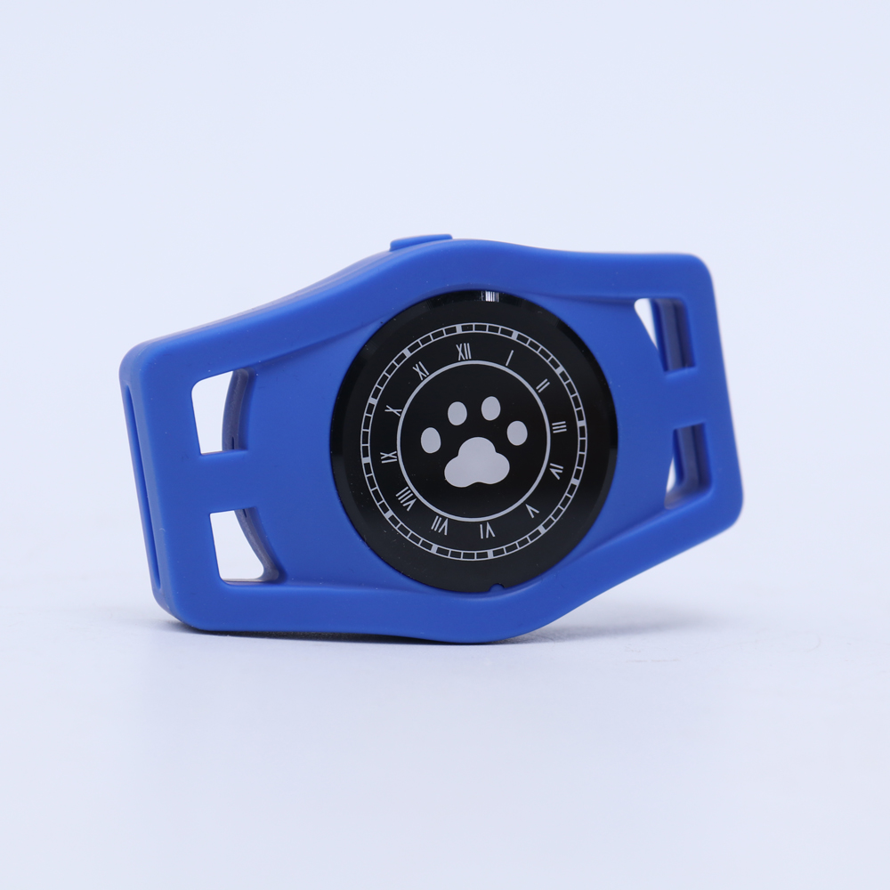 USB Charging D40 Pet GPS Tracking Locator Collar for Cats Dogs Supplies blue