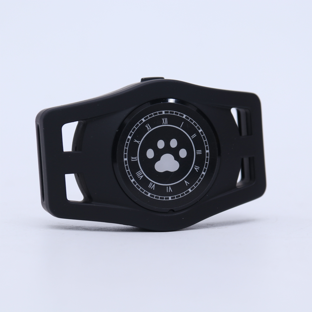 USB Charging D40 Pet GPS Tracking Locator Collar for Cats Dogs Supplies black