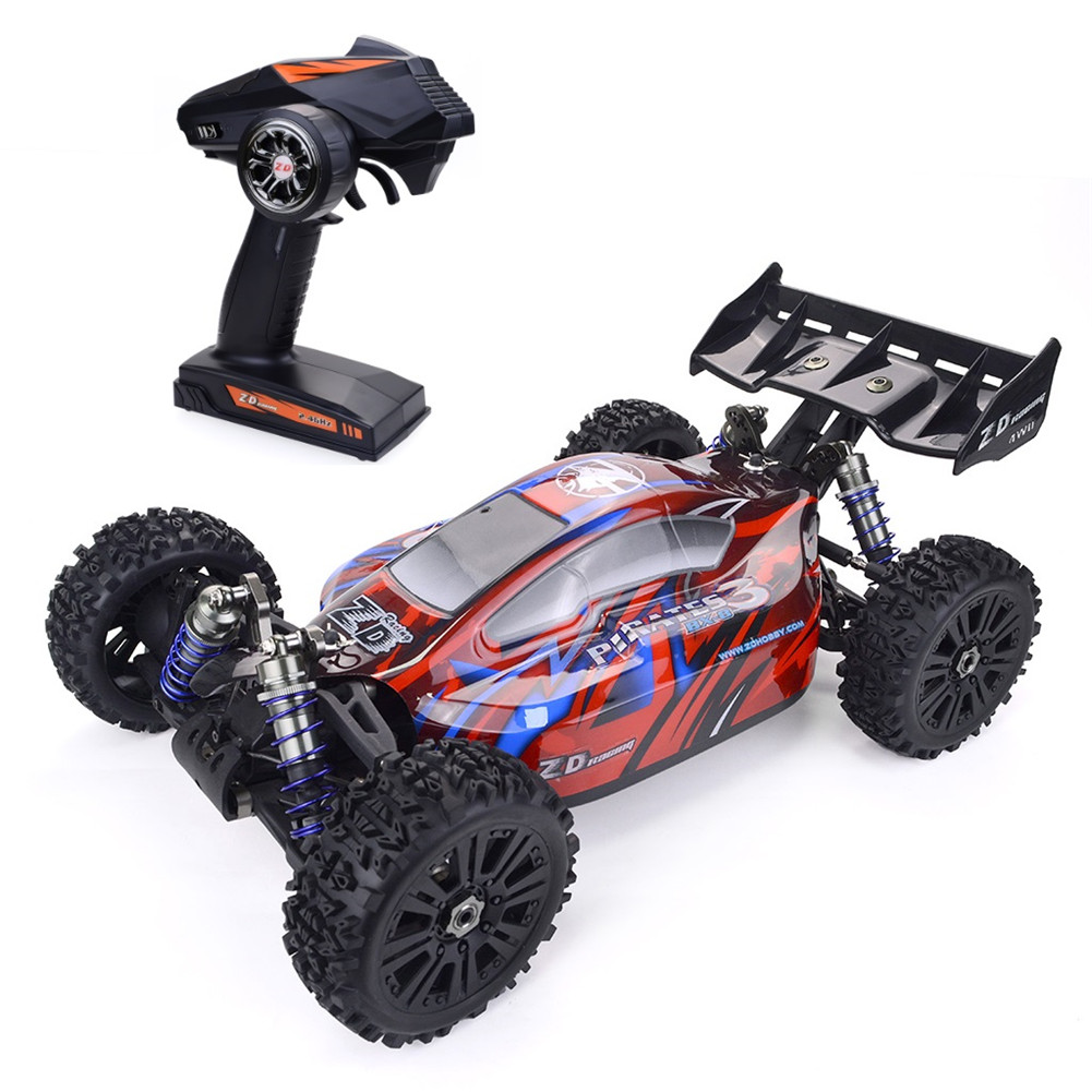 ZD Racing Pirates3 BX-8E 1:8 Scale 4WD Brushless electric Buggy red_Vehicle RTR