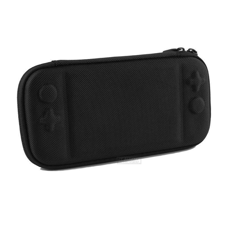 Storage Case for Switch Lite Game Console Shockproof Anti-scratch Portable Travel Shell Overall Protective Cover  black