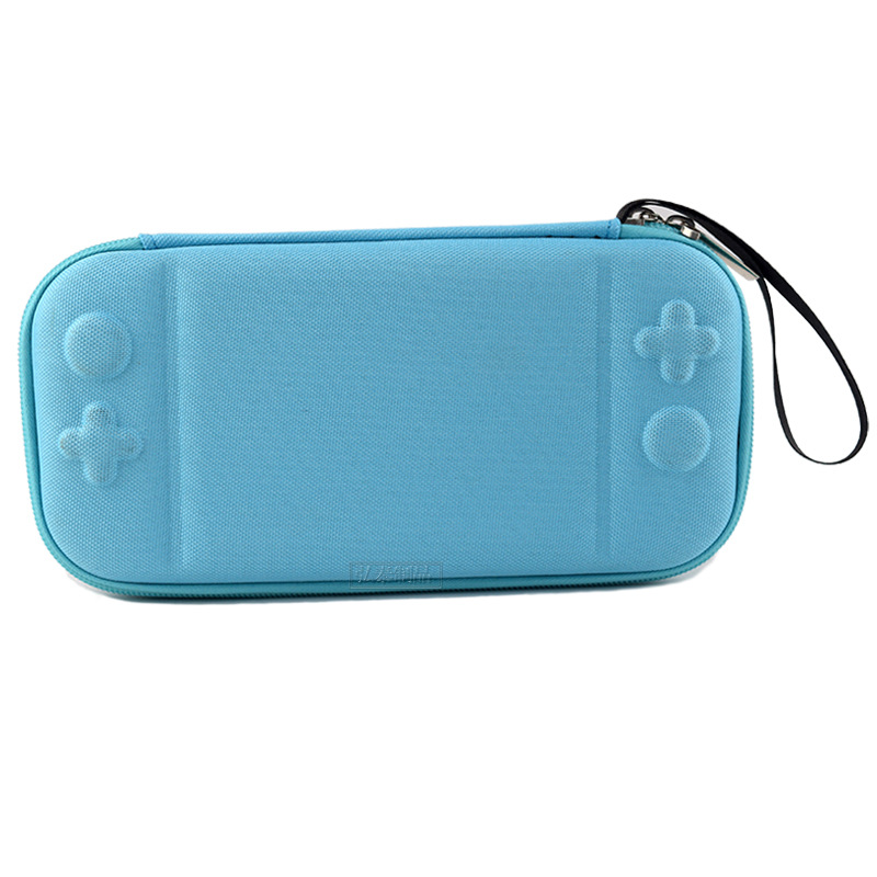 Storage Case for Switch Lite Game Console Shockproof Anti-scratch Portable Travel Shell Overall Protective Cover  blue