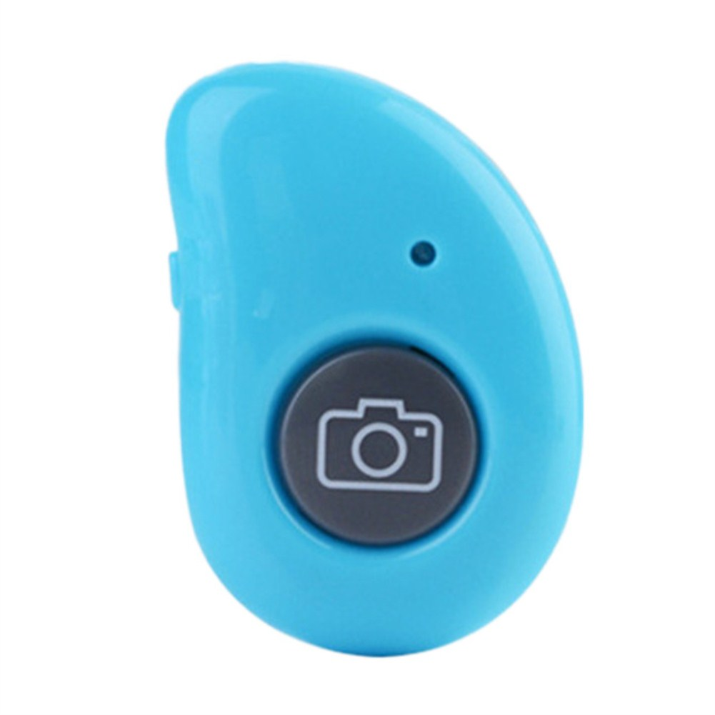 Bluetooth Self-Timer Remote Control Wireless Mobile Phone Self-Timer Stick Shutter  blue