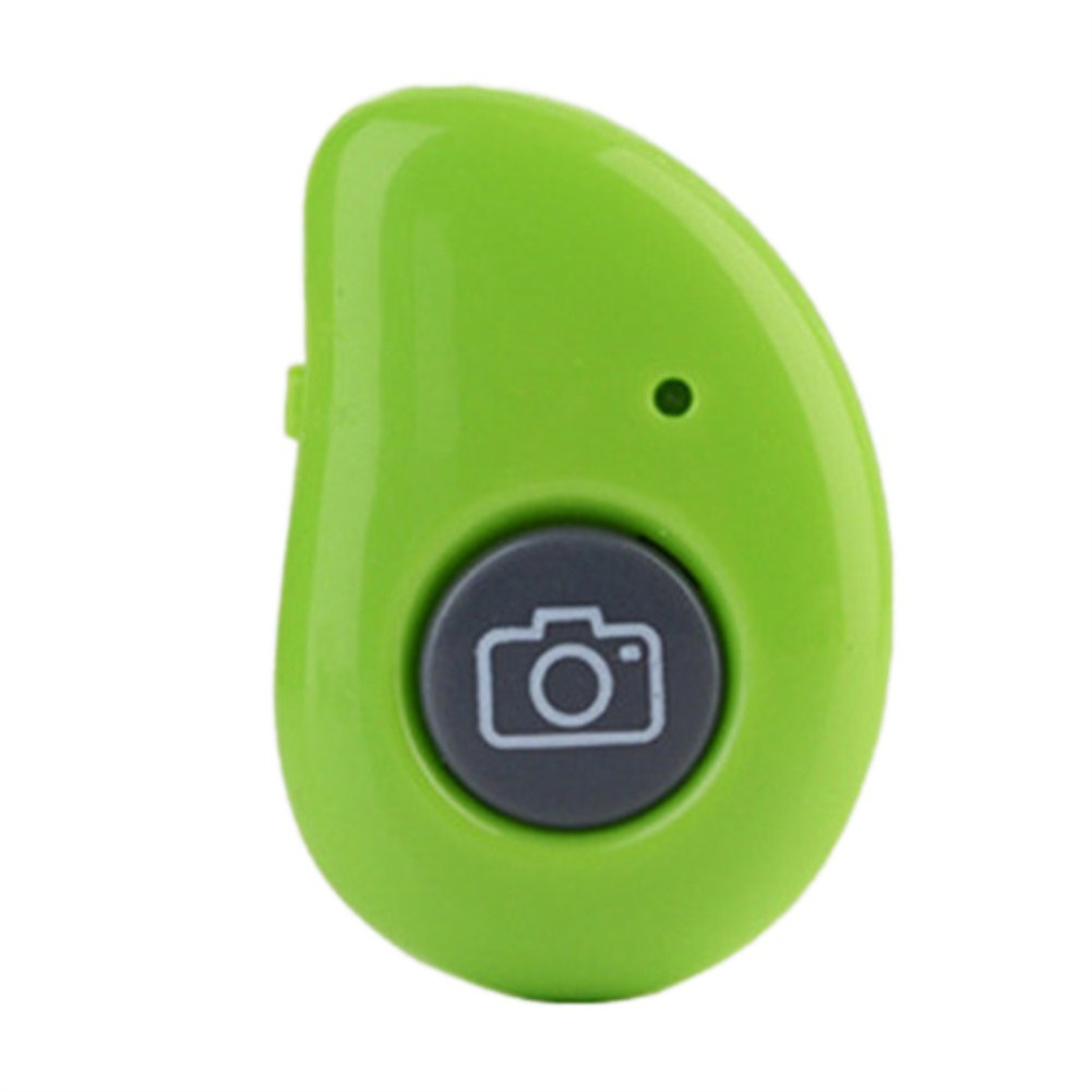 Bluetooth Self-Timer Remote Control Wireless Mobile Phone Self-Timer Stick Shutter  green