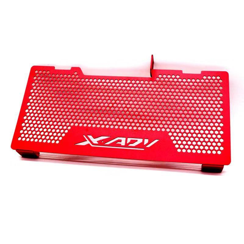 Aluminum Motorcycle Radiator Guard Grille Protection Water Tank Guard For HONDA XADV750 X-ADV750 red