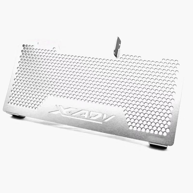 Aluminum Motorcycle Radiator Guard Grille Protection Water Tank Guard For HONDA XADV750 X-ADV750 Silver