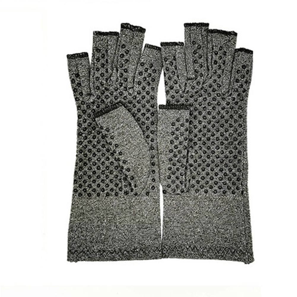 1 Pair Breathable Half-finger Dispensing Gloves Medical Anti Arthritis Compression Therapy Gloves