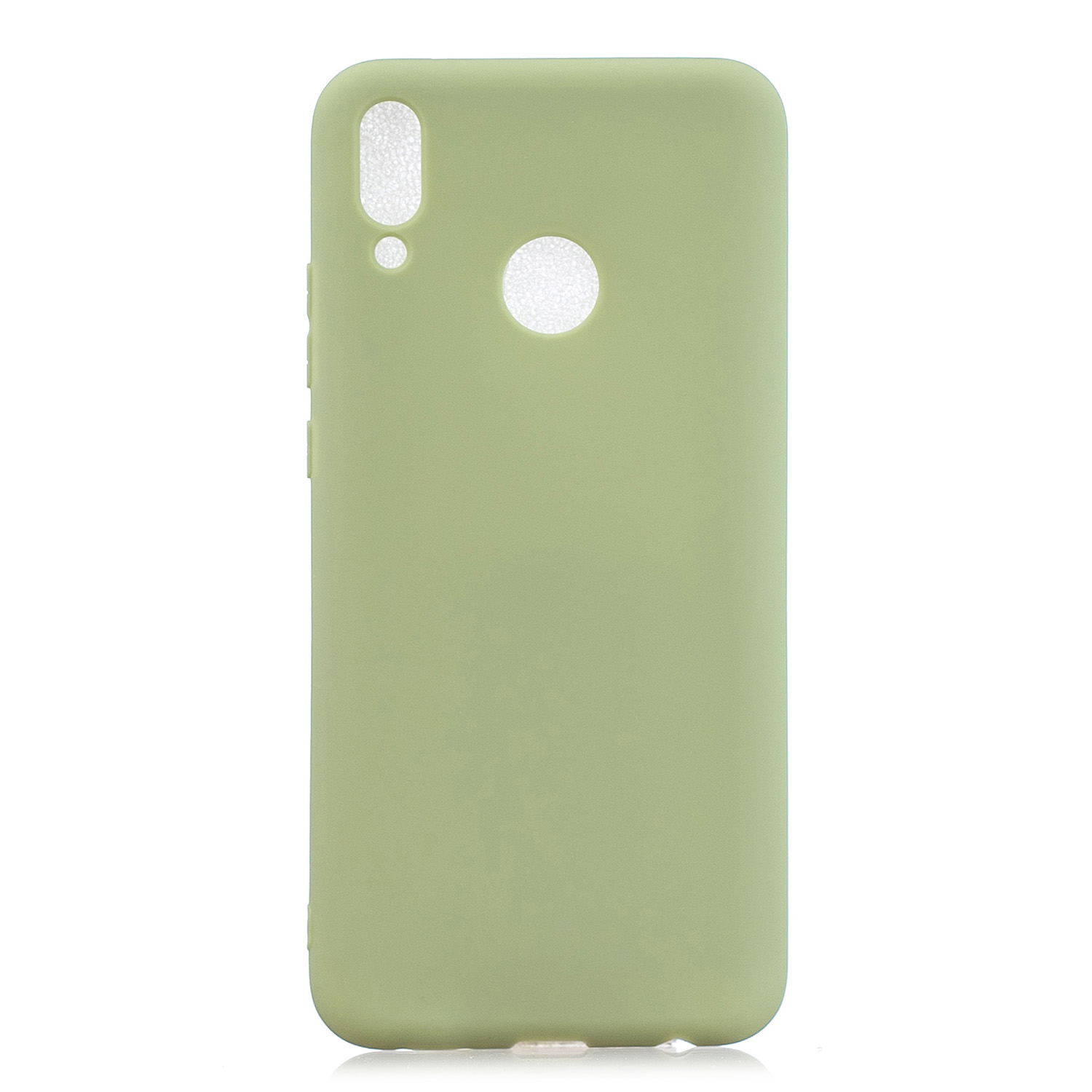 For HUAWEI Y9 2019 Lovely Candy Color Matte TPU Anti-scratch Non-slip Protective Cover Back Case 10