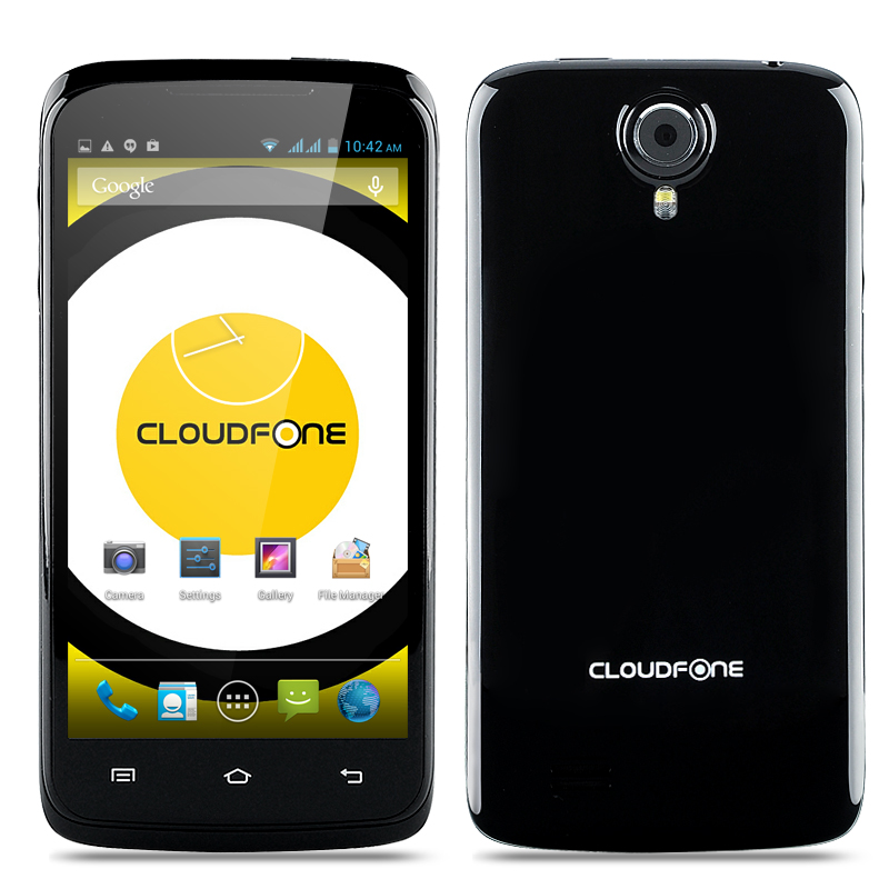 Cloudfone Excite 470q Phone (Black)