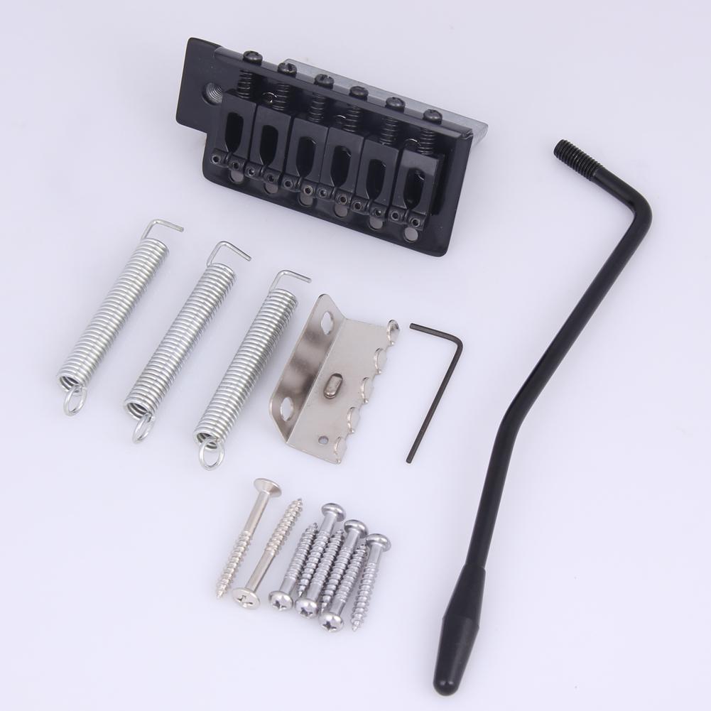 Replacement Tremolo Bridge Set for SQ ST Electric Guitar Parts & Accessories black