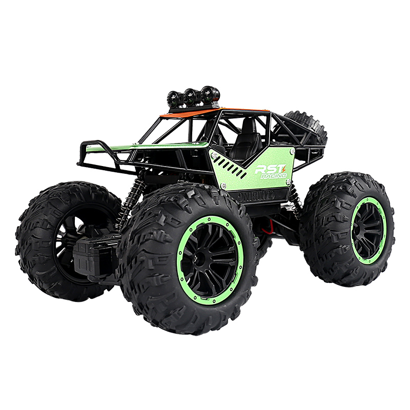 Rc Car C021s 1:20 Four-channel Alloy Climbing Car Rc Toy For Kids green