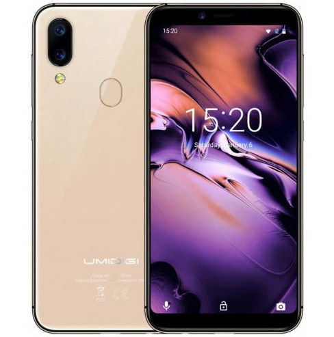 UMIDIGI A3 Space Phablet phone - Gold