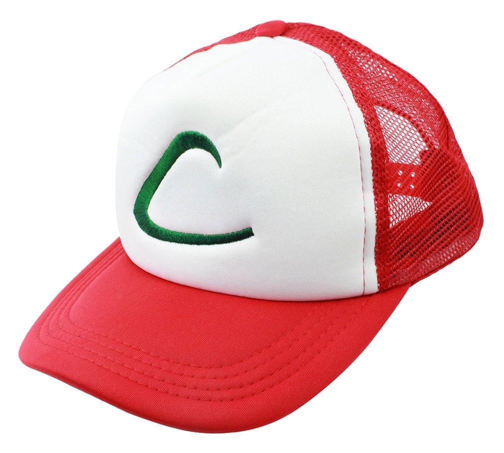 [US Direct] Pokemon Ash Ketchum hat free size