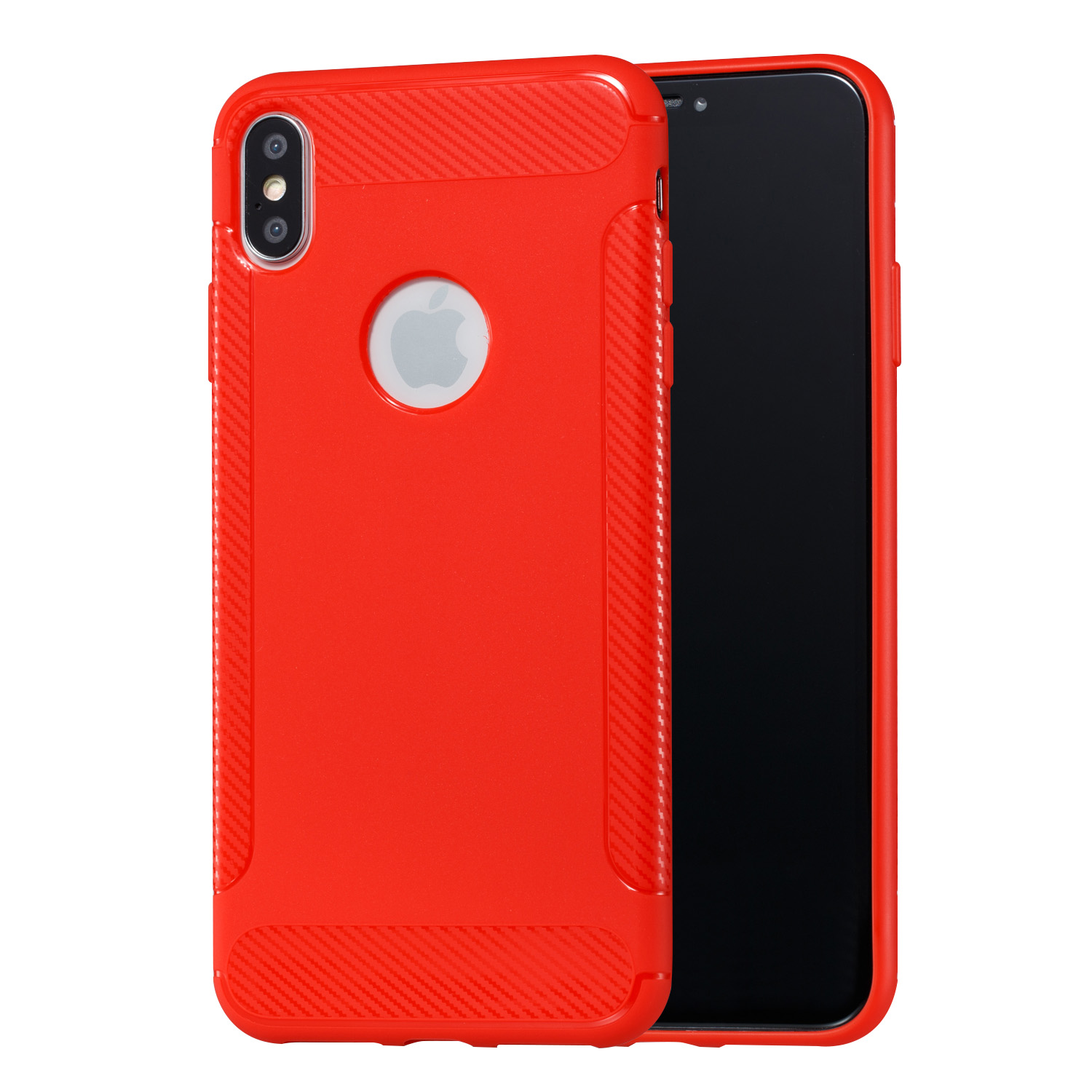 Shockproof Red Case for Iphone XS Max