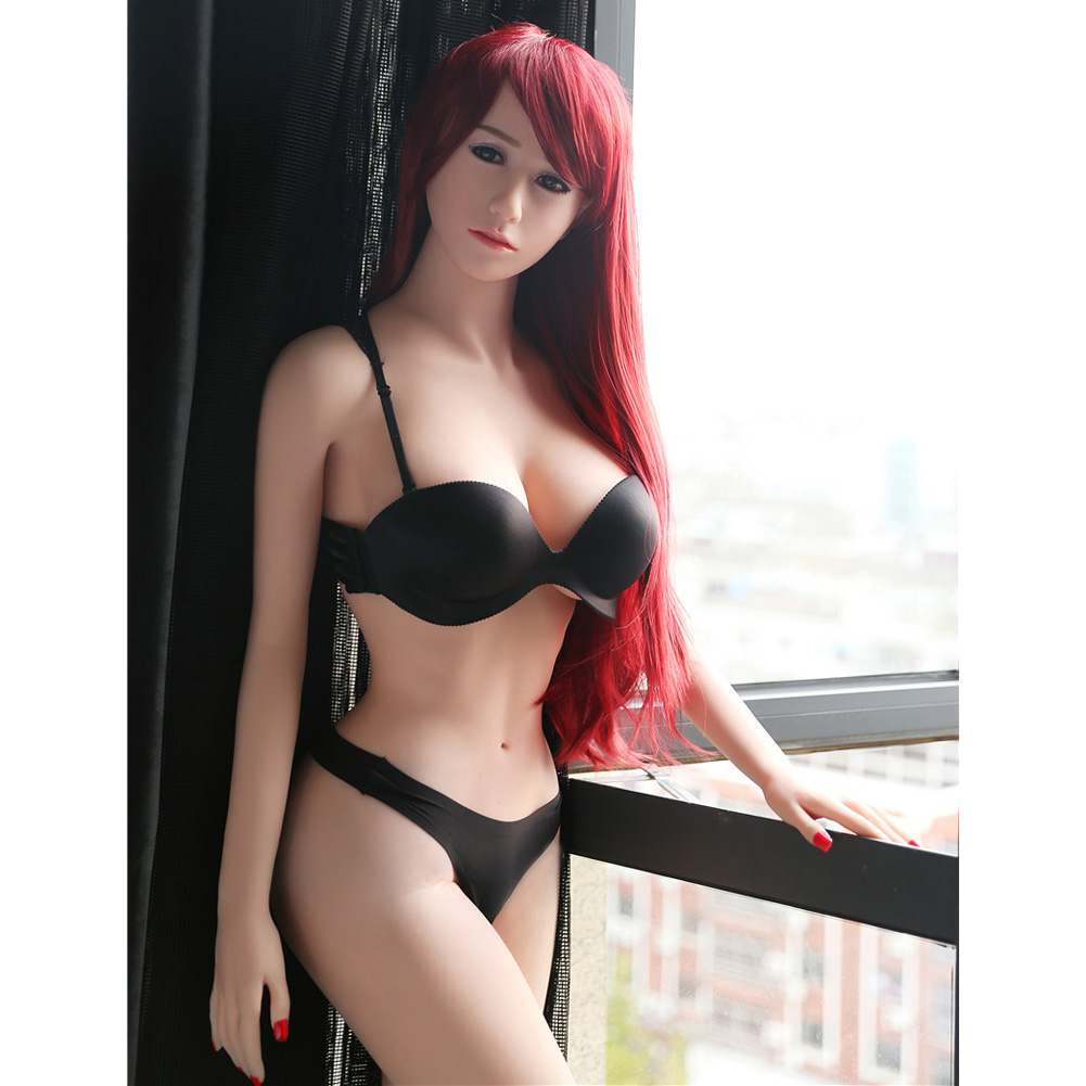 Real Full Skeleton Dolls TPE Adult Toys Young Girl 18 Love Mini Small Breast Silicone Short Sex Doll  131cm