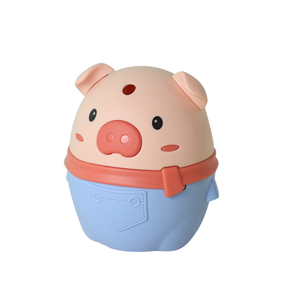 Piggy Push-type Toothpick  Holder Toothpick Box For Restaurant Home Toothpick Storage  Container blue