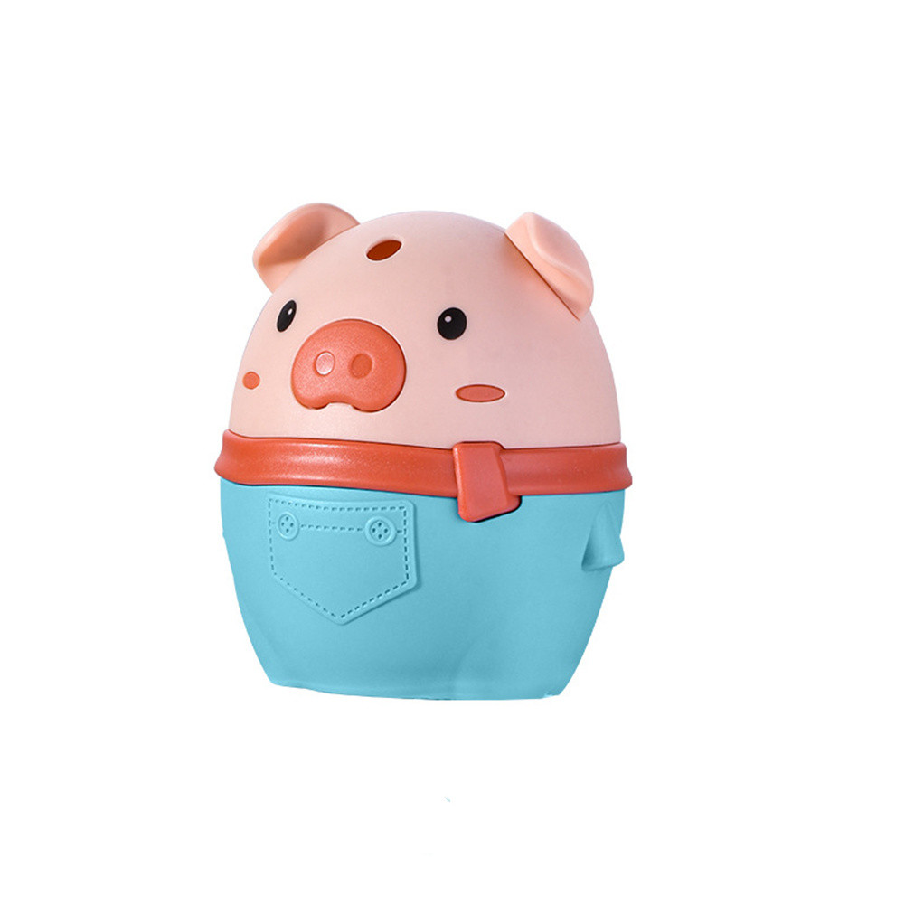 Piggy Push-type Toothpick  Holder Toothpick Box For Restaurant Home Toothpick Storage  Container green