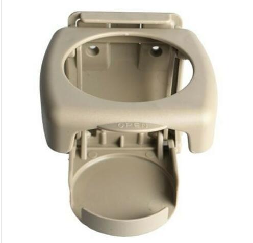 Foldable Car Cup Holder Portable ABS Beverage Holder Cup Bracket Beige