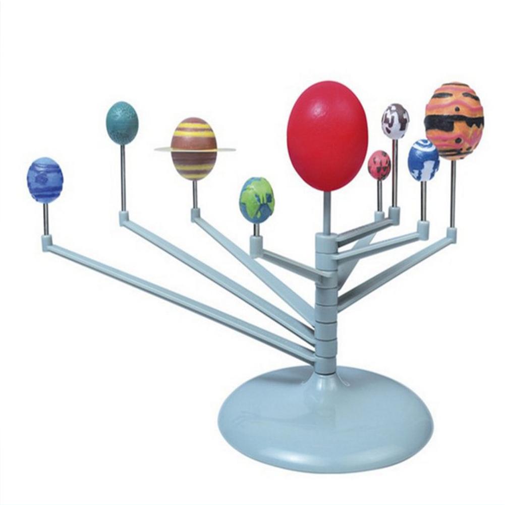 Solar  System  Model Children Science Nine Planets Celestial Movement Instrument Diy Toys Solar system