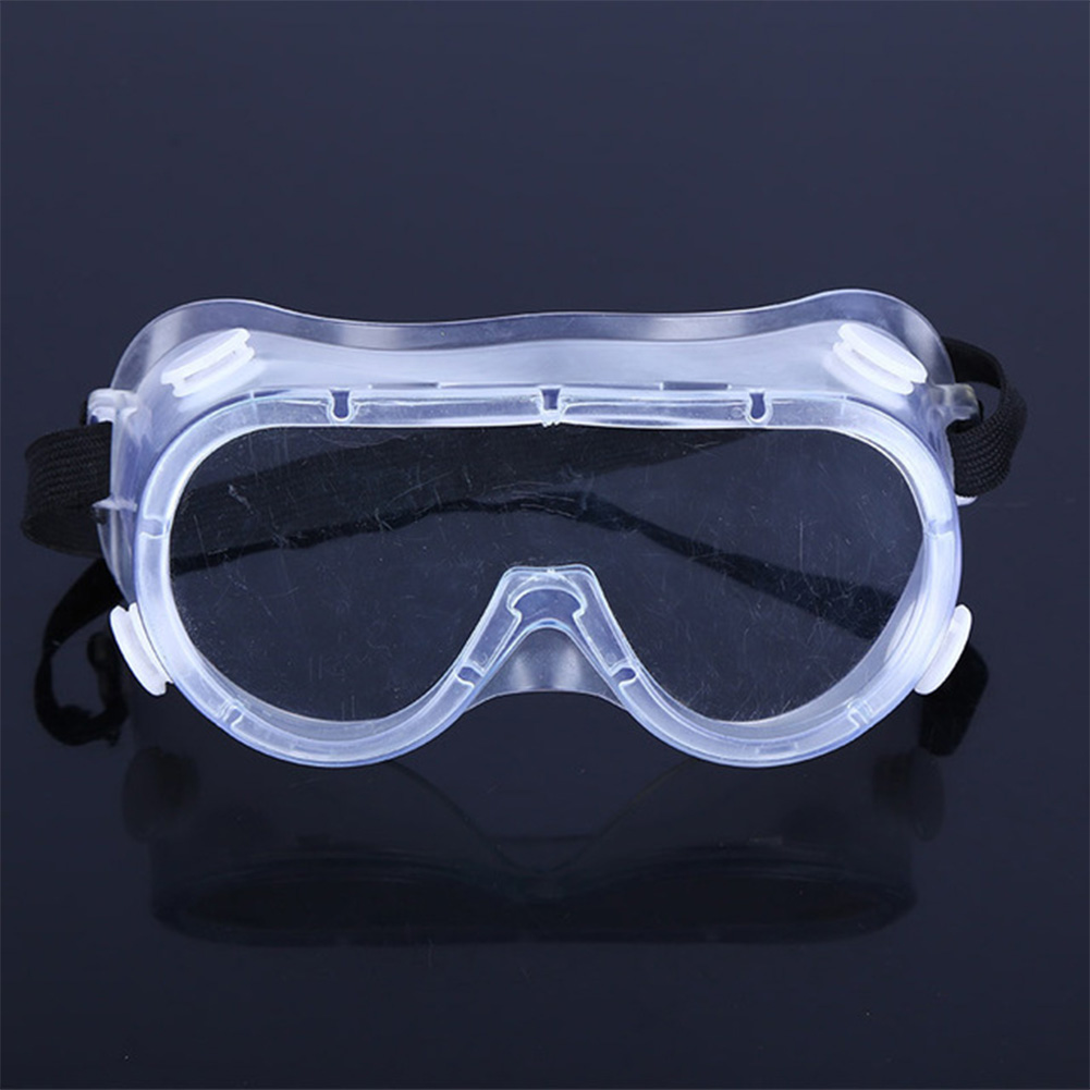 Anti Virus Goggles Eye Protection Safety Glasses Windproof Dust Anti Fog Protection Transparent Goggles Transparent color