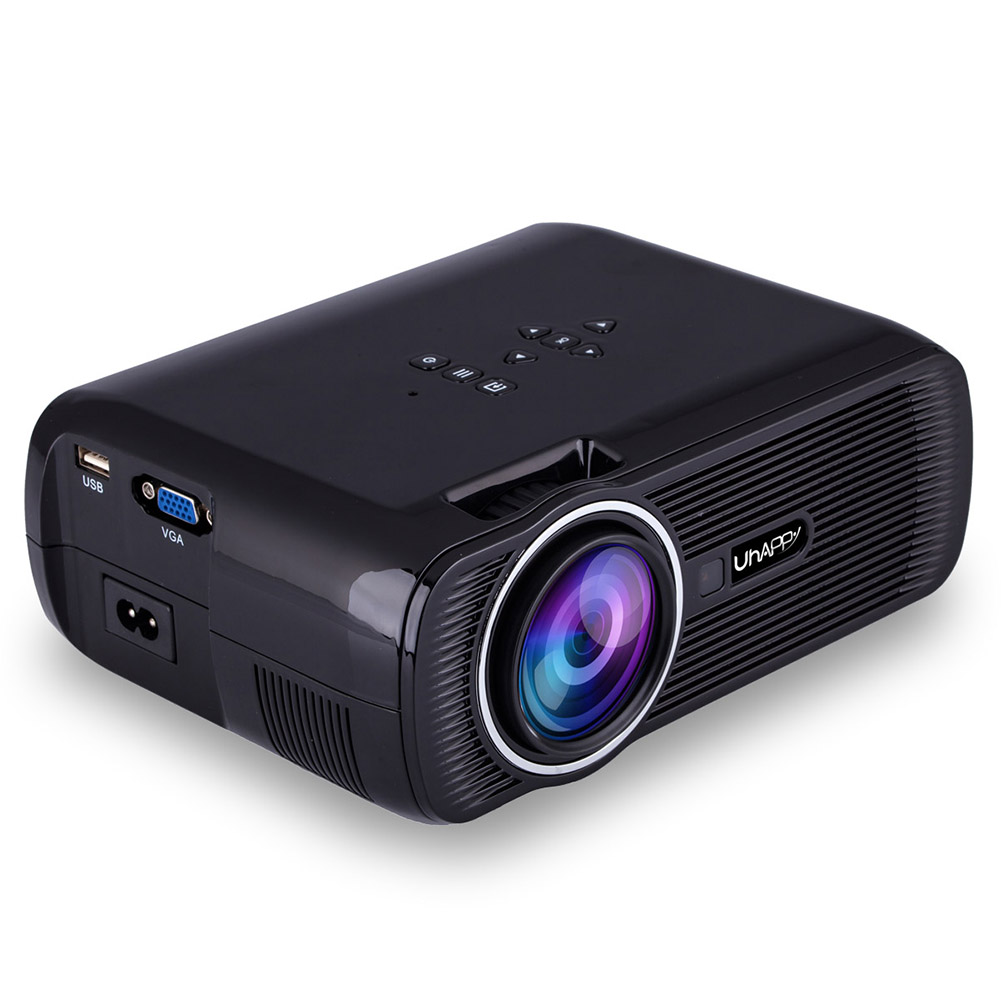 UHAPPY U80 LED Mini Projector AU Plug