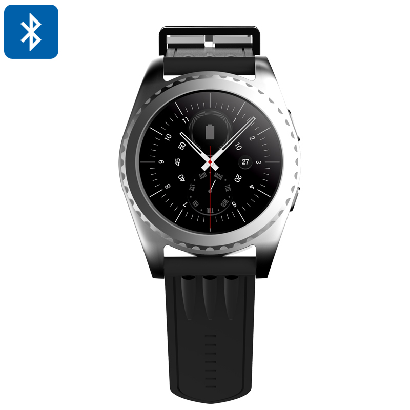 Bluetooth Smart Watch (Silver)