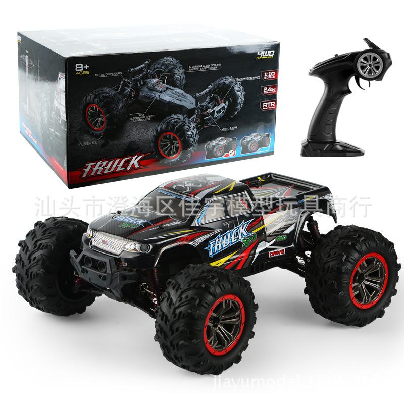 9125 Four-wheel Remote Control High Speed Modeling Car Toy red_1:10
