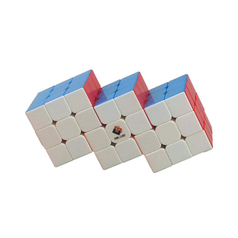 Anti-stick Magic  Cube Educational Puzzle Toy For Kids Stress Reliever 3 in 6