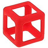 Fidget Cube Protective Cover Case Stress Relief Anti Anxiety Magic Cube Dice Toy Prismatic Shell Red